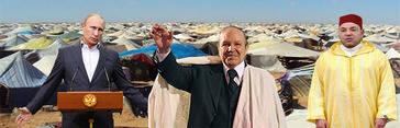 Putin pone de acuerdo a Argelia, Marruecos y Polisario