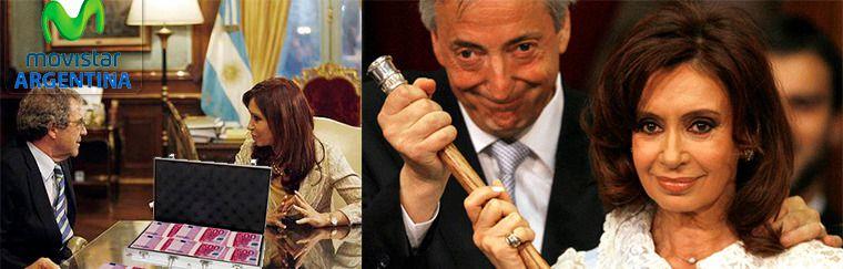 Macri investiga a Telefónica por el presunto pago de mil millones de dólares al matrimonio Kirchner