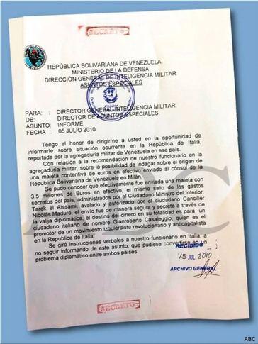 El Gobierno venezolano financió el Movimiento 5 Estrellas que gobierna en Italia