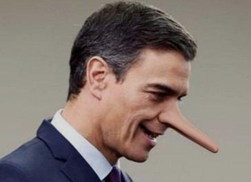 Pilladas de Pedro Sánchez diciendo mentiras