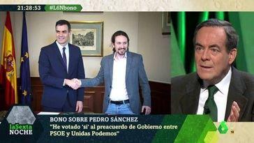 Lo que decían José Bono y otros socialistas de Iglesias y Pedro Sánchez