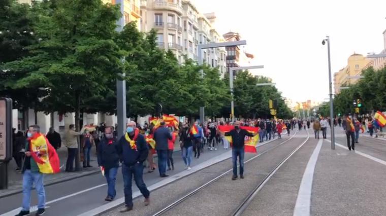 Diversas caceroladas en toda España contra el gobierno de Pedro Sánchez y Pablo Iglesias