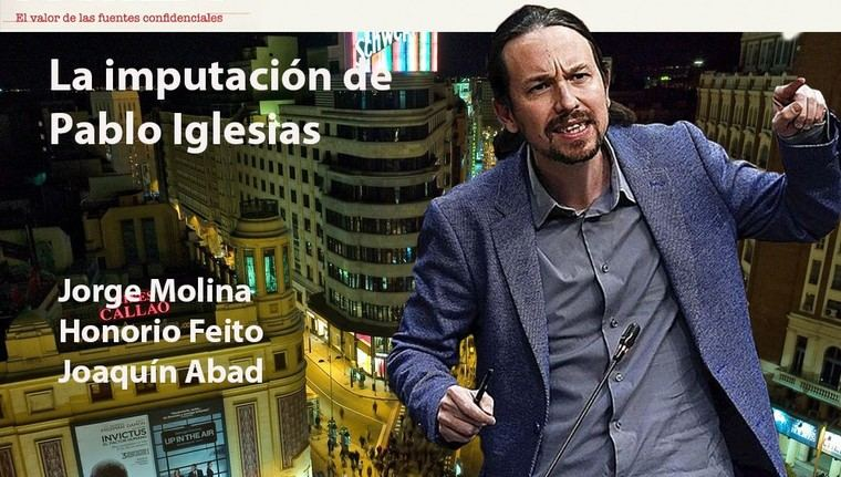 La imputación de Pablo Iglesias y Podemos