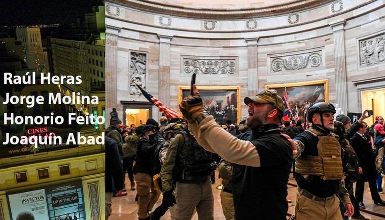 La violenta toma del Capitolio de Estados Unidos