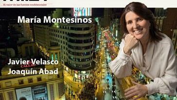 Con María Montesinos, la autora de 'Un destino propio'