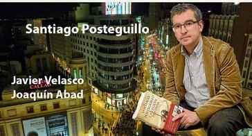 Con Santiago Posteguillo