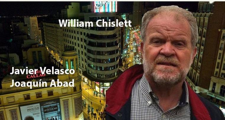 Con William Chislett, autor de Microhistoria de España