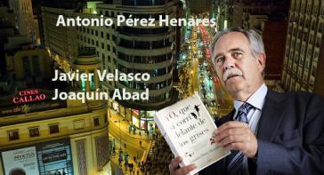 Antonio Pérez Henares, mas de treinta libros escritos