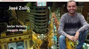 Con el autor de El Alano, José Zoilo