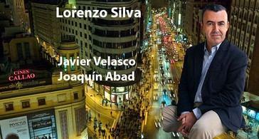 Con Lorenzo Silva