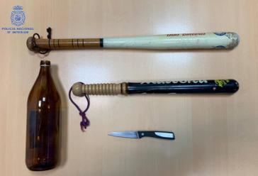 Bienvenidos a la 'Fase 1': Detenidos por pelearse en la terraza de un bar de Palma con bates de béisbol