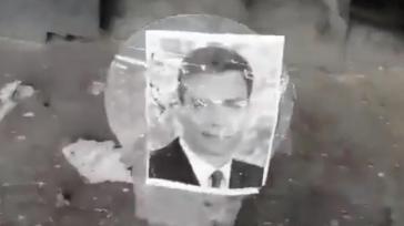 Disparar a fotografías de miembros del Gobierno se persigue... ¿Por qué quemar fotos del Rey no?
