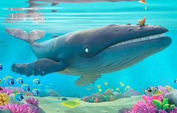 Hermosísima y cinematográfica oda a la amistad entre distintos y distantes: El caracol y la ballena