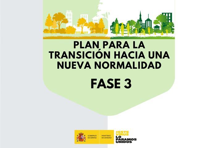 ¿Qué se puede hacer en la fase 3? Sin franjas horarias y sin movilidad entre provincias