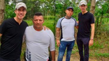 Juan Guaidó y sus polémicas fotos con narcos colombianos
