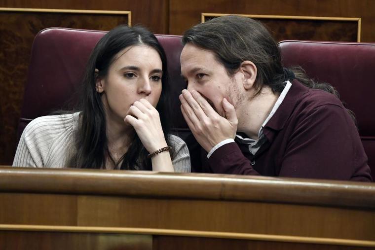 Cuando Irene Montero, portavoz de Podemos, pedía no censurar las redes sociales