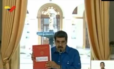 Nicolás Maduro también decreta un mes de prórroga del Estado de Alarma