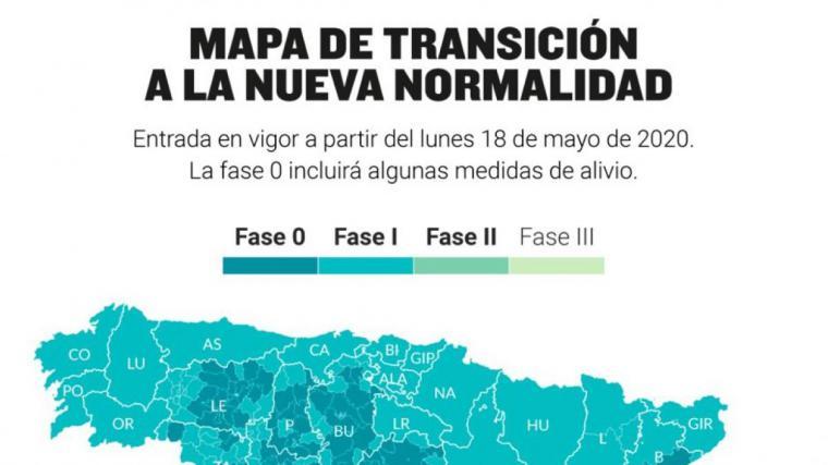 Plan de desescalada del coronavirus en España: Estos son los territorios que pasan a la fase 1 y 2