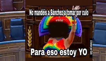 Ofensivo meme del ministro Grande-Marlaska que circula por la red