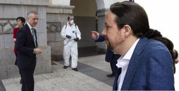 El partido de Pablo Iglesias denuncia que el gobierno de Pedro Sánchez benefició al País Vasco al pasar a la fase 1