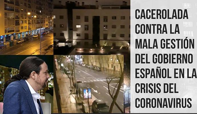 Pablo Iglesias y Pedro Sánchez quiere que la policía se anticipe a las concentraciones convocadas contra el Gobierno