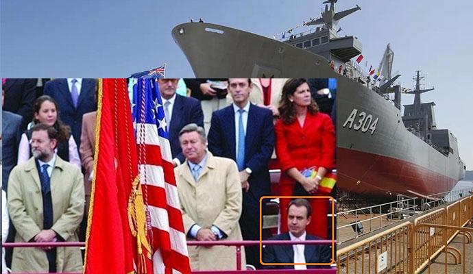 Los desplantes de Zapatero y Sánchez a Estados Unidos pasan factura a Navantia, que la excluyen del pedido de diez fragatas