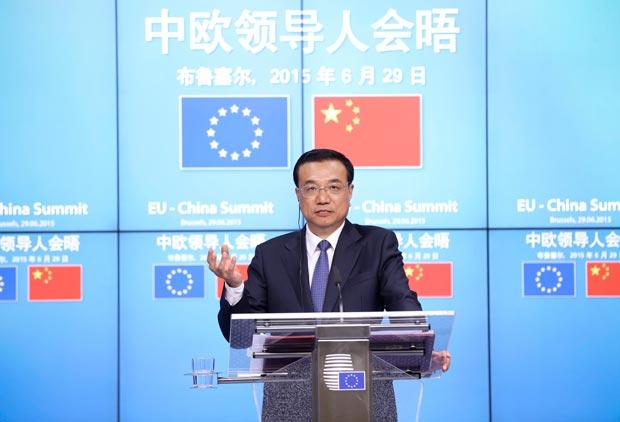 """El primer ministro chino """"sugiere"""" que se llegue a un acuerdo con Grecia"""