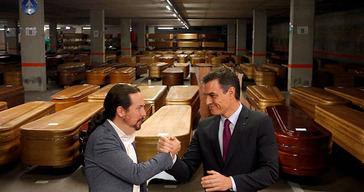 El gobierno de Pedro Sánchez y Pablo Iglesias lo sabían