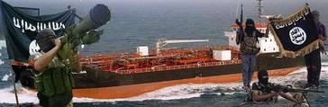 El Estado Islámico prepara atentados con misiles contra petroleros en el Mediterráneo
