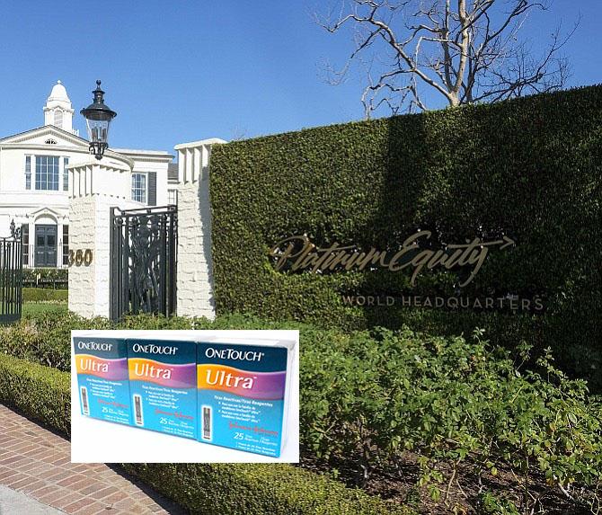 Johnson & Johnson ocultó la falsificación de One Touch al vender la división a Platinum Equity