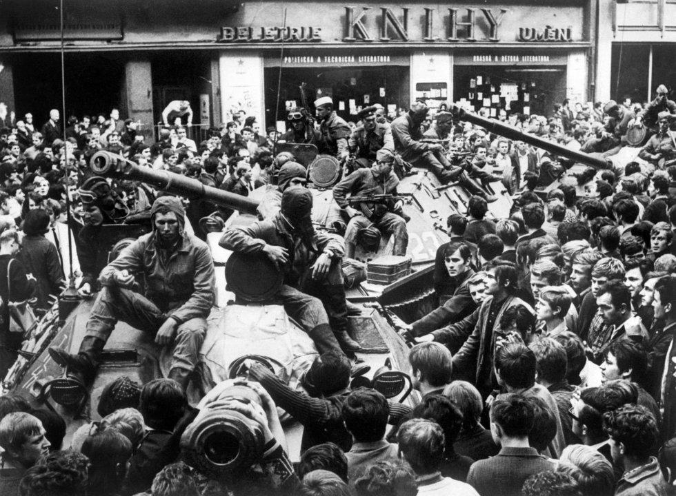 """La """"Primavera de Praga"""", o el origen de los Estados"""