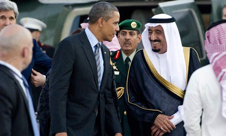Resultado de imagen para arabia saudita golpe