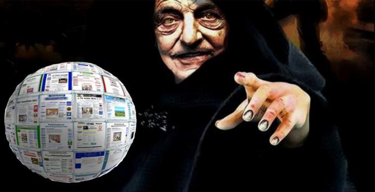 George Soros controla miles de medios informativos en todo el mundo