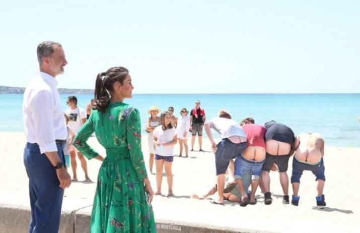 La supuesta falta de respeto a la Corona de España que no fue, pero pudo serlo...