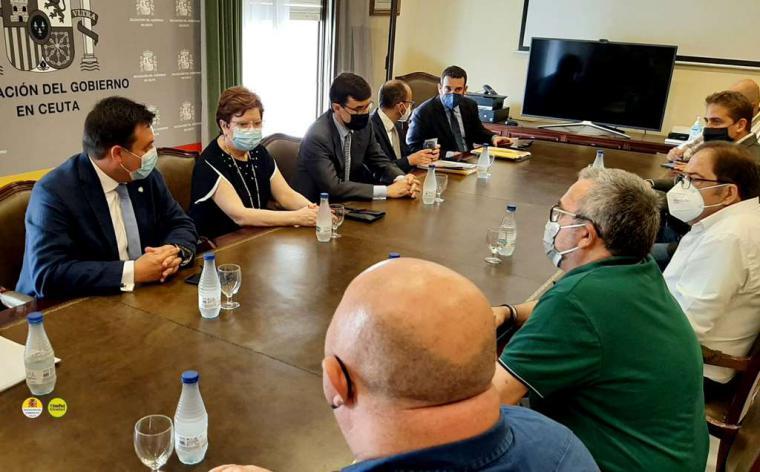 ¿Acceso sin visado a Ceuta y Melilla para los residentes de Tetuán y Nador?