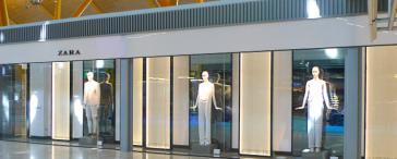 Inditex abandona los aeropuertos de Aena
