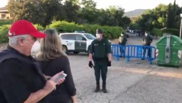 La Guardia Civil corta la calle del chalé de Pablo Iglesias para evitar caceroladas