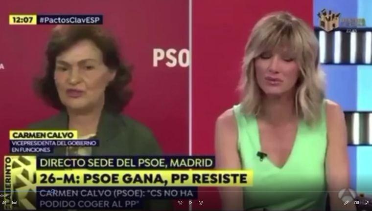 Cuando Carmen Calvo decía que no pactarían con Bildu