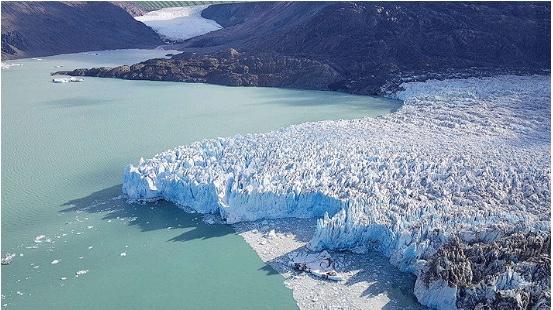 Glaciares de Chile en situación crítica: Campo de Hielo Sur perdió 220 km2 en 13 años