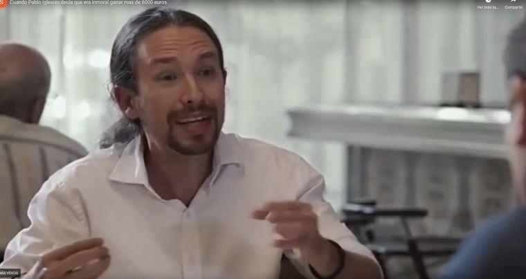 Video censurado de Pablo Iglesias en el programa Estado de Alarma del martes 12 de mayo