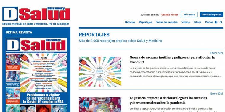 Campaña contra Discovery Salud y José Antonio Campoy