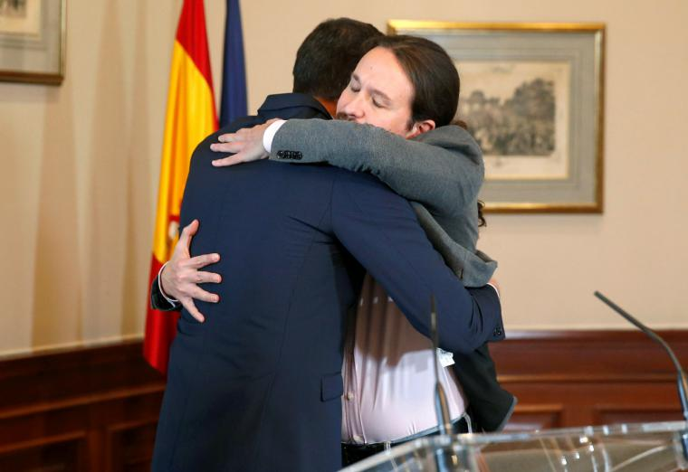 Pablo Iglesias al Infierno, Pedro Sánchez al Purgatorio