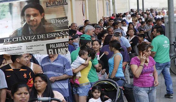 La crisis económica se está cebando con los más vulnerables