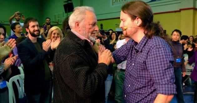 Cuando Pablo Iglesias argumentaba que Julio Anguita era un viejo estorbo