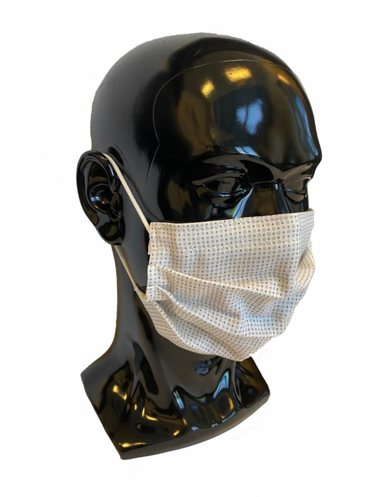 Un tejido electro farmacéutico erradica los coronavirus al contacto