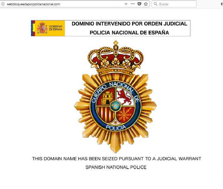 La Policía interviene la site mejortorrent.com
