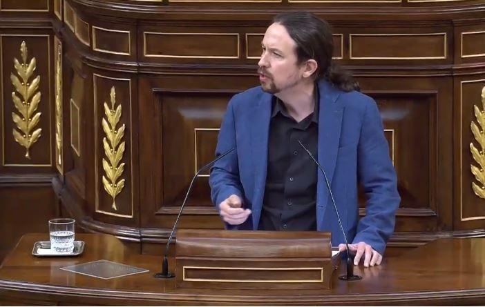Pablo Iglesias dice que Cobos desobedeció la orden de informar al Gobierno