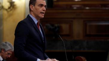 Newtral califica de falsa la afirmación del presidente Sánchez en sede Parlamentaria