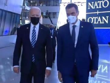 Sobre el paseo de Pedro con Biden