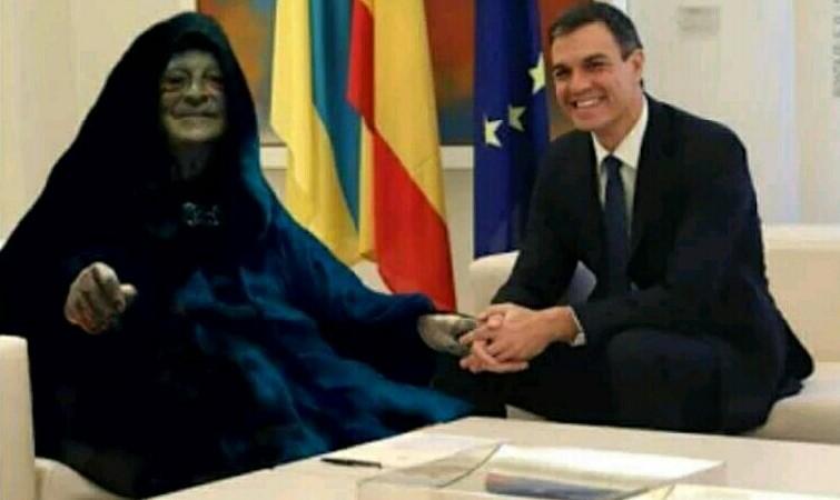 Sánchez, la marioneta española de George Soros